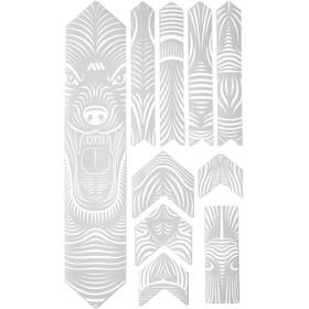 All Mountain Style Extra Frame Protection Kit 10 Pieces, white/wolf